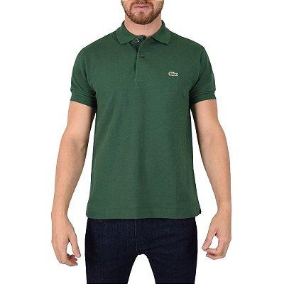 Camisa Polo Lacoste - Verde Escuro