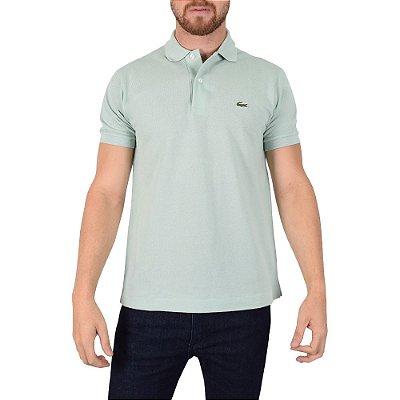Camisa Polo Lacoste Regular - Verde Jade
