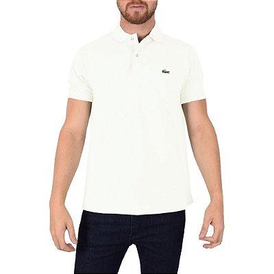 Camisa Polo Lacoste - Branca