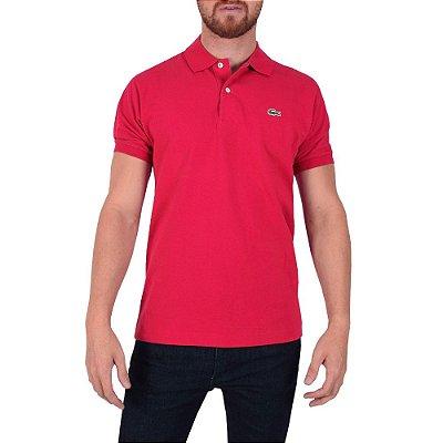 Camisa Polo Lacoste Regular - Vermelho Grenadine