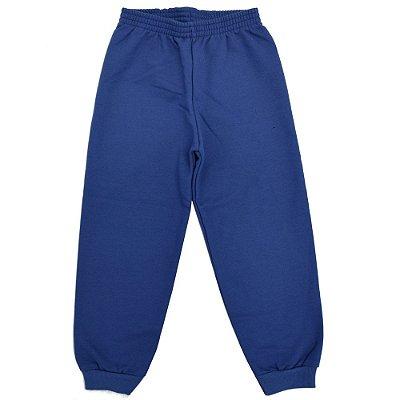 Calça de Moletom Básica Menino - Azul - Fakini