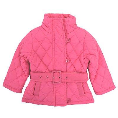 Jaqueta Doudoune com Cinto Pink - Momi