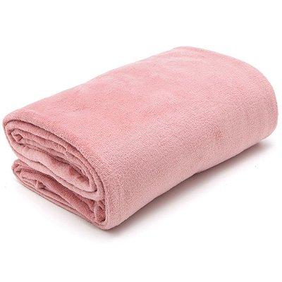 Cobertor Casamara Casal - Rosa Claro - Kacyumara