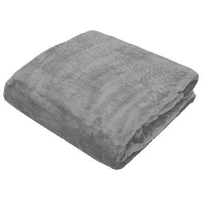 Cobertor Blanket Casal - Cinza - Kacyumara