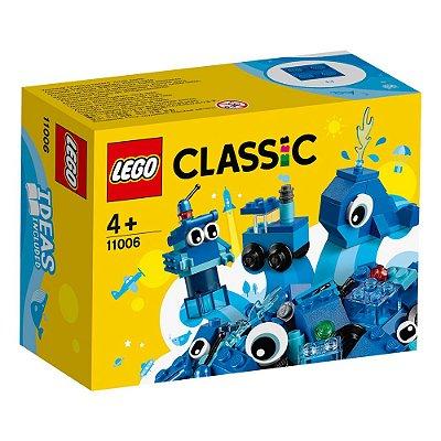 Lego Classic - Peças Criativas - Azul