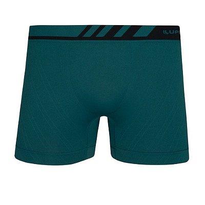 Cueca Boxer Sem Costura Microfibra - Verde - Lupo