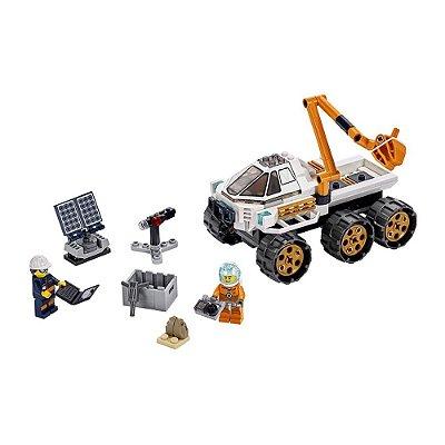 Lego City - Teste de Condução do Carro Lunar