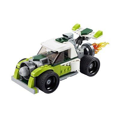 Lego Creator - Caminhão Foguete - 3 em 1