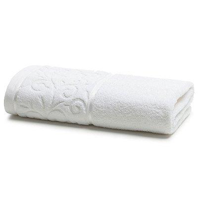 Toalha de Banho Para Bordar Melina II - Branca - Karsten