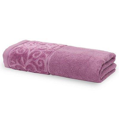 Toalha de Banho Para Bordar Melina II - Rosa Queimado - Karsten