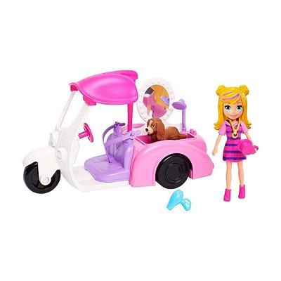 Polly Pocket - Veículo Banho de Cachorrinhos - Mattel