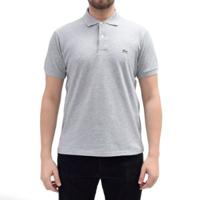 Camisa Polo Lacoste - Cinza Chine
