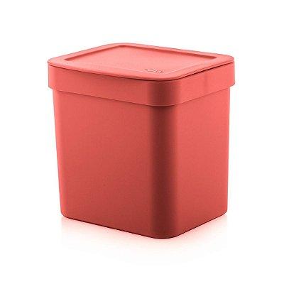 Lixeira Trium 4,7L - Vermelho - Ou