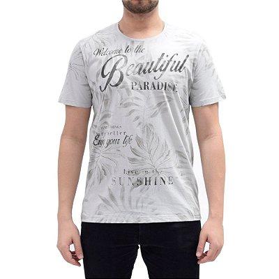 Camiseta Paradise - Cinza Paz - KM