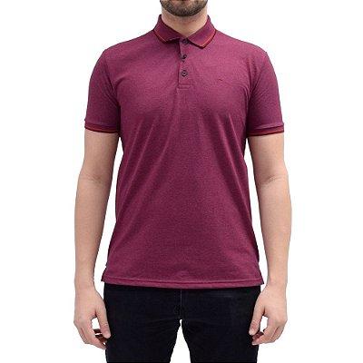Camisa Polo Básica - Vinho/Vermelho - Ellus