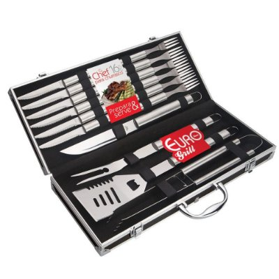 Conjunto Chef para Churrasco - Euro Home