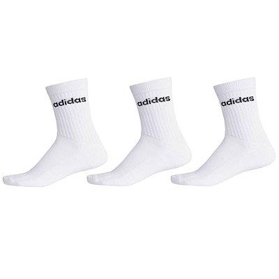 Kit Meia Socks Chaussettes - 3 Pares - Adidas