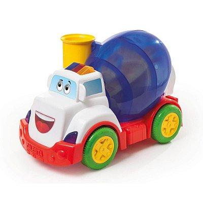 Caminhão Mix Ball - Branco - Calesita