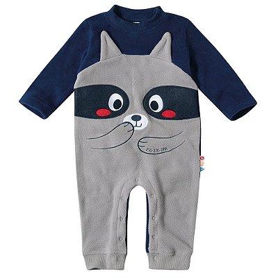Macacão Baby Soft - Ursinho Azul - Malwee