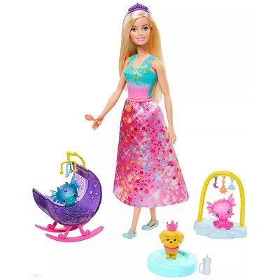 Barbie Dreamtopia - Babá de Dragões - Mattel