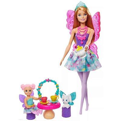 Barbie Dreamtopia Dia de Pets - Festa do Chá - Mattel
