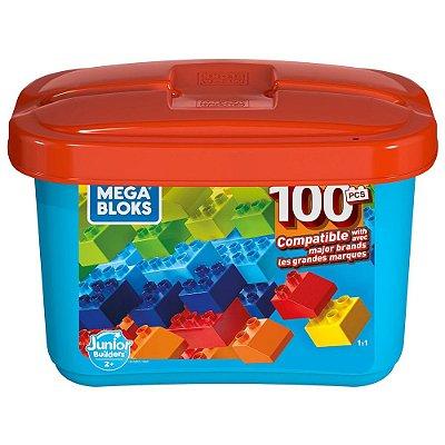 Blocos de Montar Mega Bloks - 100 Peças - Mattel