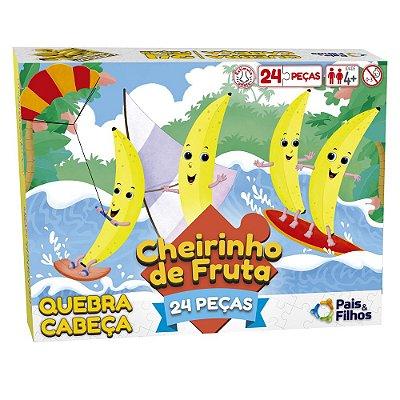 Quebra-Cabeça 24 Peças Cheirinho de Fruta - Banana - Pais & Filhos