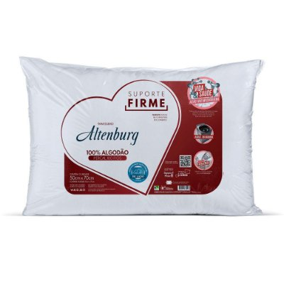 Travesseiro 180 fios - Suporte Firme - Altenburg