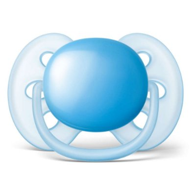 Chupeta Ultra Soft - 0 à 6 Meses - Azul - Philips Avent