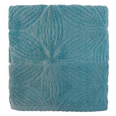 Toalha de Rosto Jacquard Confort Agatha - Azul 11432 - Döhler