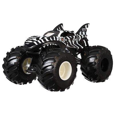 Hot Wheels Monster Trucks - Zebra Shark - Mattel