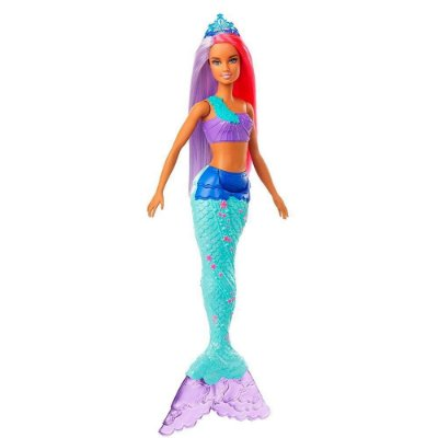Barbie Dreamtopia Fantasia Sereia - Cabelo Rosa e Lilás - Mattel