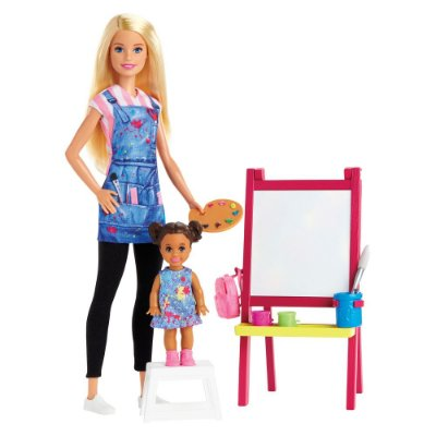 Boneca Barbie Profissões - Professora de Artes - Mattel