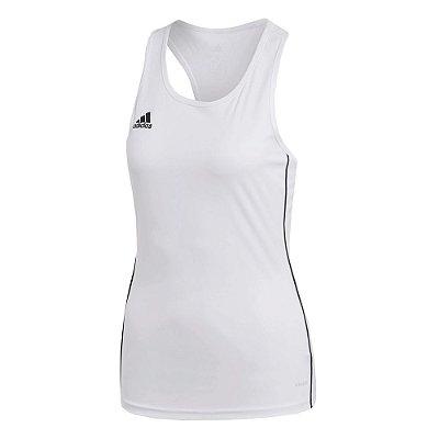 Regata Feminina Core 18 Branca - Adidas