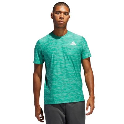 Camiseta All Set Mescla Verde - Adidas