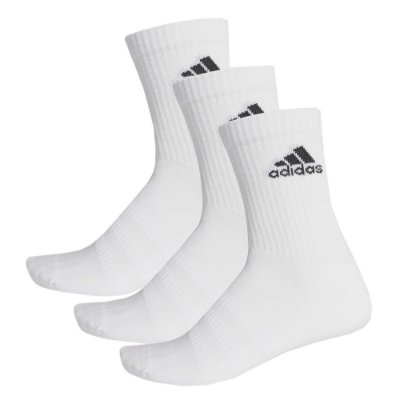 Kit Meia Cushioned Crew - 3 Pares - Adidas