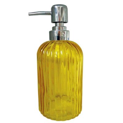 Porta Sabonete Colors Listra - Amarelo -  Mimo Style
