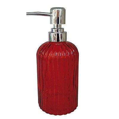 Porta Sabonete Colors Listra - Vermelho -  Mimo Style
