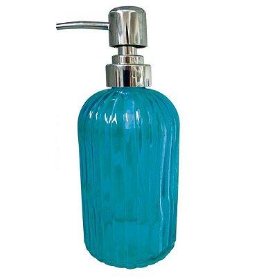 Porta Sabonete Colors Listra - Azul -  Mimo Style