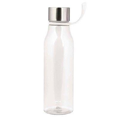 Garrafa Modern com Alça 570 ml - Transparente - Mor