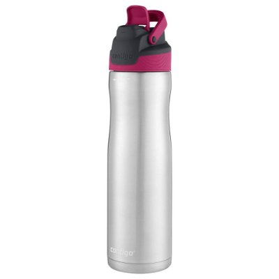 Garrafa Térmica Inox Autoseal Chill 709ml - Rosa - Contigo
