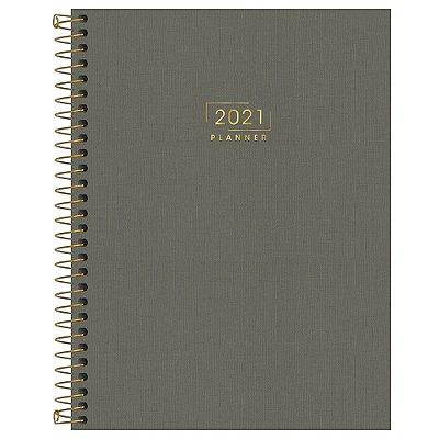 Agenda Planner Lume 2021 - Cinza - Tilibra
