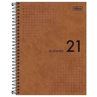 Agenda Planner Prátika 2021 - Caramelo - Tilibra