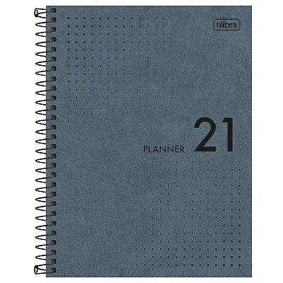 Agenda Planner Prátika 2021 - Azul - Tilibra