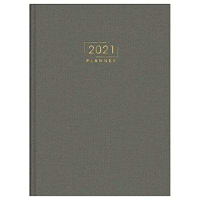 Agenda Planner Costurada Executivo Lume 2021 - Cinza - Tilibra