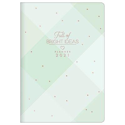 Agenda Planner Soho 2021 - Bright Ideas - Verde - Tilibra