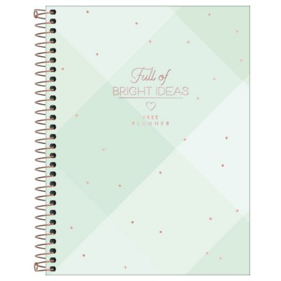 Agenda Planner Permanente - Bright Ideas - Tilibra