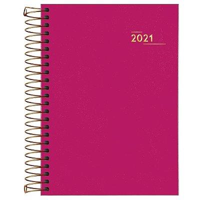 Agenda Diária Napoli 2021 - Rosa - Tilibra