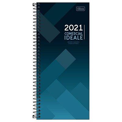 Agenda Diária Comercial Ideale 2021 - Tilibra