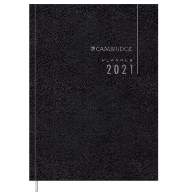 Agenda Planner Cambridge 2021 - Preta - Tilibra